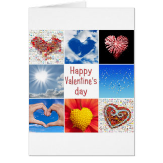 """Joining heart """"Happy Valentine' S day """" Card"""