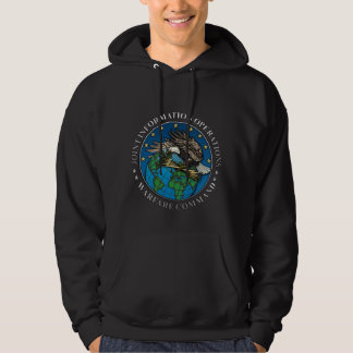 Joint Information Operations Warfare Center Hooded Pullovers