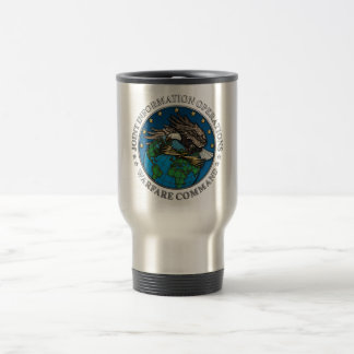 Joint Information Operations Warfare Center Stainless Steel Travel Mug
