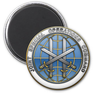 Joint Special Operations Command 6 Cm Round Magnet