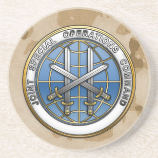 Joint Special Operations Command Beverage Coasters