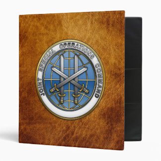 Joint Special Operations Command Binders