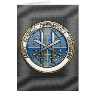 Joint Special Operations Command Greeting Card