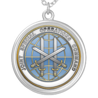 Joint Special Operations Command Round Pendant Necklace