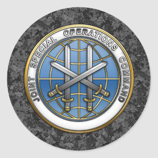 Joint Special Operations Command Round Sticker