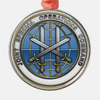 Joint Special Operations Command Silver-Colored Round Decoration