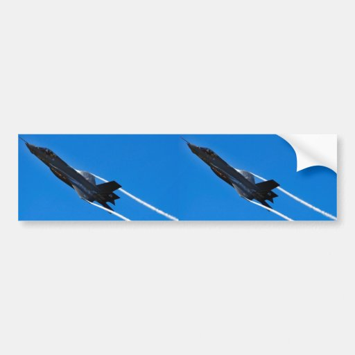 Joint Strike Fighter Bumper Stickers
