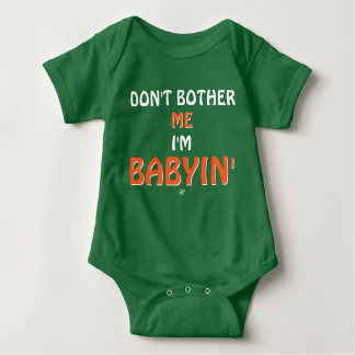 Joke about the tantrums of babies baby bodysuit