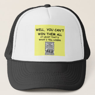 joke for winners! trucker hat