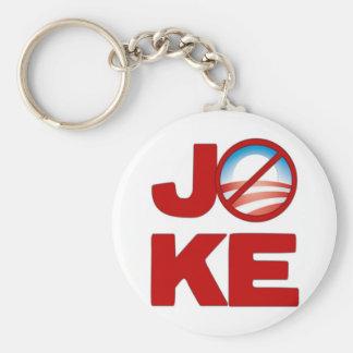 Joke Obama Basic Round Button Key Ring