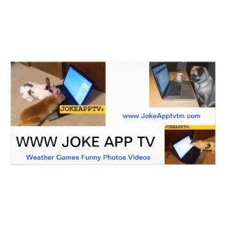 JokeApp Note Card Customized Photo Card