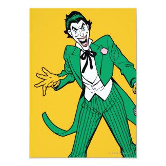 Joker 13 Cm X 18 Cm Invitation Card