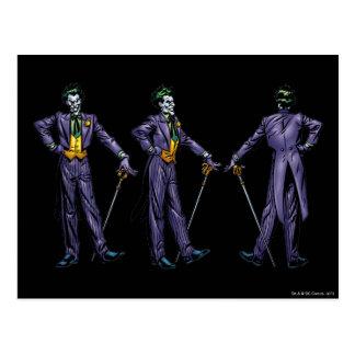 Joker - All Sides Postcard