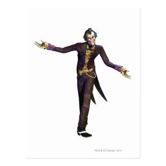 Joker Arms Out Postcard