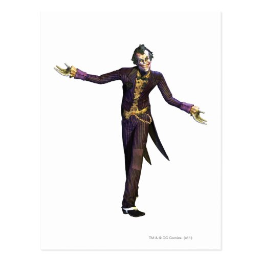 Joker Arms Out Postcards