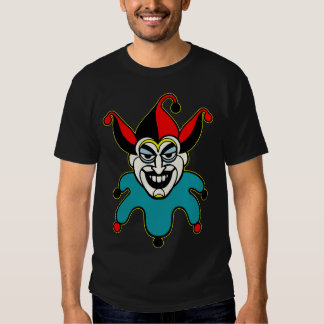 joker card face t shirts