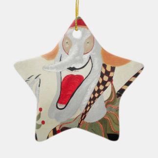 Joker Ceramic Star Decoration
