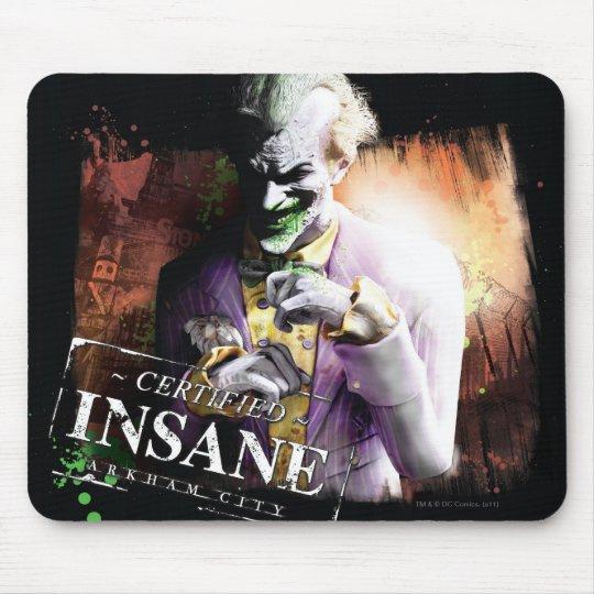 Joker - Certified Insane Mouse Mat