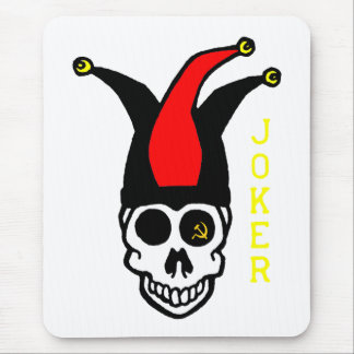 joker commie mouse pad