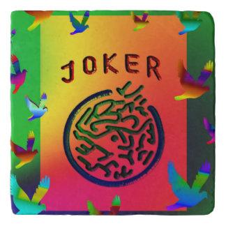 Joker Dreams Stone Trivet