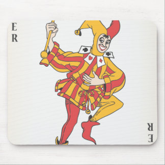 Joker in the Pack Mouse Mat
