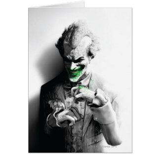 Joker Key Art Greeting Card