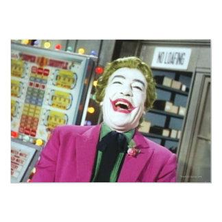 Joker - Laughing 4 13 Cm X 18 Cm Invitation Card