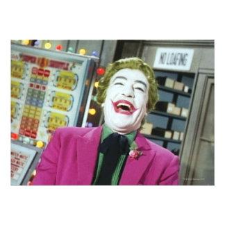 Joker - Laughing 4 Invite