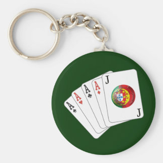Joker no Jogo - Selecção das Quinas Basic Round Button Key Ring