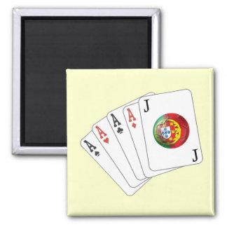 Joker no Jogo - Selecção das Quinas Square Magnet