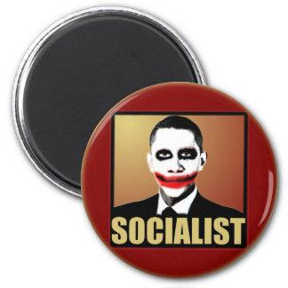 Joker Obama 6 Cm Round Magnet