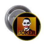 Joker Obama Pin