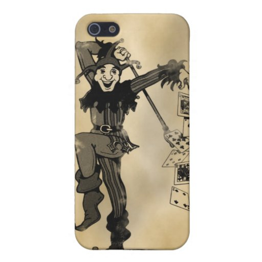 Joker Old Card iPhone Case Covers For iPhone 5