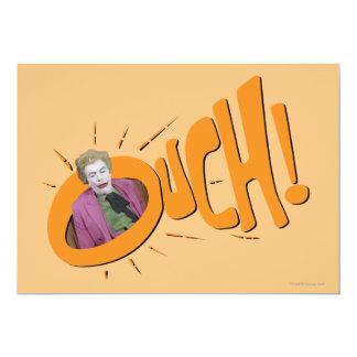 Joker OUCH! 13 Cm X 18 Cm Invitation Card
