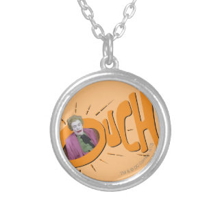 Joker OUCH! Silver Plated Necklace