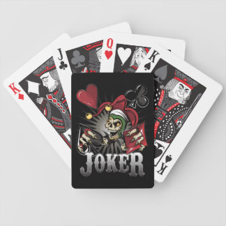Joker Poker Skull Bicycle Playing Cards