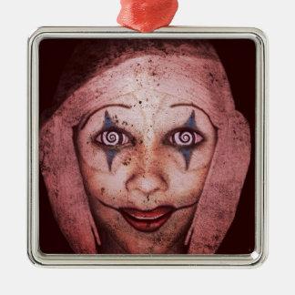 Joker Raggedy-Ann Clown With Swirly Eyes Christmas Ornaments