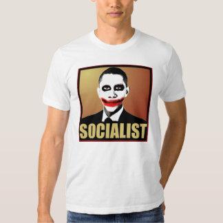 Joker Socialist Obama T Shirt