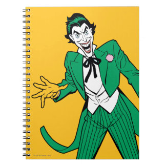 Joker Spiral Notebook