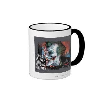 Joker - There's Plenty Wrong With Me! Ringer Mug