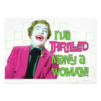Joker - Thrill Invites