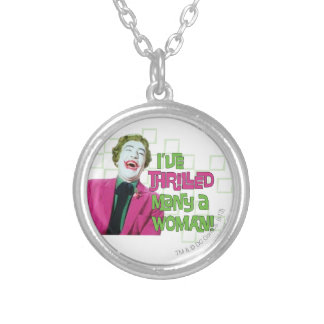 Joker - Thrill Silver Plated Necklace