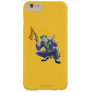 Joker with fake gun barely there iPhone 6 plus case