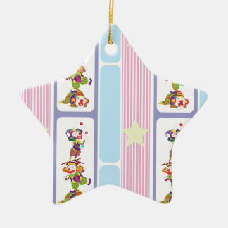 jokers ceramic star decoration