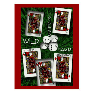 Jokers Wild Postcard