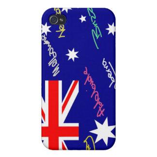 Jokey Australian Flag Case For The iPhone 4