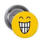 Joking around Smiley face Pins