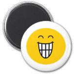 Joking around Smiley face Refrigerator Magnets