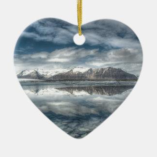 Jokulsarlon glacial lagoon, Iceland Christmas Ornament