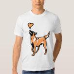 joli malinois t-shirt